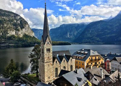Hallstatt Church - Avusturya