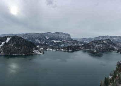 Bled Lake from Castle